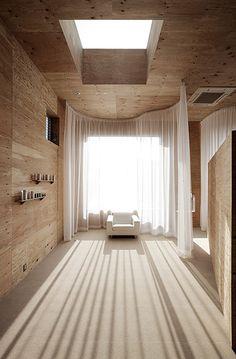 MORI x hako dentist  // Keisuke Maeda of UID Architects.  Curtain