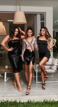 Not friends, not enemies, just some strangers with memories 🖤 Summer Holiday Outfits, Chubby Fashion, Sequin Outfit, Skinny Fashion, Elegant Wedding Hair, Girls In Mini Skirts, Dress Patterns, Ideias Fashion, Party Dress