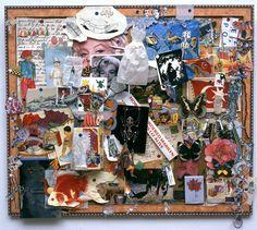Bulletin Board (Gumdrops) by Jane Hammond
