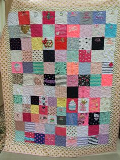 Baby clothe quilt