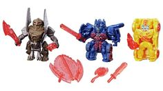Transformers The Last Knight - Official Photos Of Reveal Your Shield Tiny Turbo Changers 3-Pack
