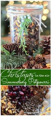 CHRISTMAS IS IN THE AIR~ SIMMERING POTPOURRI - StoneGable