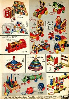 1950 toys and games | Browse 1950s Toys by selecting a toy below