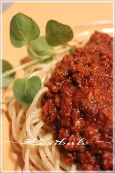 les milles & un délices de ~lexibule~: ~Sauce à spaghetti Italien de Franden~ Cooking Spaghetti, Spaghetti Sauce, Vinaigrette, Gravy, Buffet, Food And Drink, Pasta, Dinner, Ethnic Recipes
