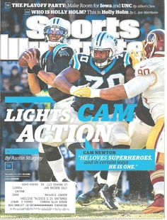 Cam Newton Carolina Panthers Football Sports Illustrated Magazine Nov 30, 2015 #unknown