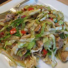 Chicken Cabbage Stir Fry