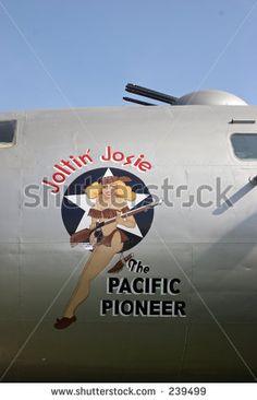 Image detail for -Joltin Josie Nose Art. World War Ii Bomber Stock Photo 239499 ...