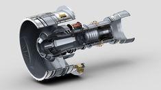 axial jet engine - بحث Google