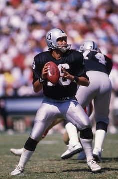 Jim Plunkett QB #16 1980 Comeback PoY, 2x Super Bowl Champion (XV & XVIII), Super Bowl XV MVP w/ Raiders (1978-86)
