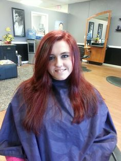 Kenra reds, hair by Tammy