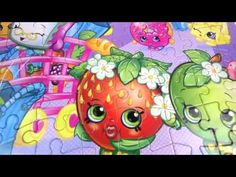 Shopkins Lunch Box Puzzle Tin Season 2 5 Pack with Mystery Surprise Blin...