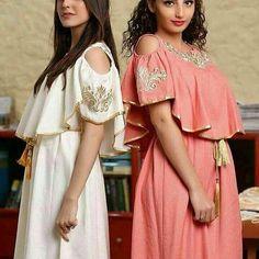 caftan marocaine Abaya Fashion, Modest Fashion, Indian Fashion, Traditional Fashion, Traditional Dresses, Simple Dresses, Casual Dresses, Arabic Dress, Mode Abaya