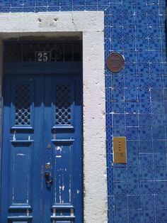 Blue door Grand Entrance, Entrance Doors, Front Doors, Doorway, Tall Cabinet Storage, Locker Storage, Open Door Policy, When One Door Closes, Blue Palette
