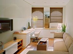 Tiny Apartment - Big Style via DIY-Maven