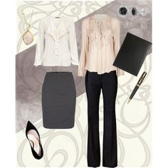 Career Fair Outfit, created by penncareerserv on Polyvore