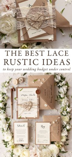 Rustic wedding invitation ideas - When it has to do with weddings everything needs to be ideal. Wedding is a good example of love that creator has sh. Summer Wedding Invitations, Handmade Wedding Invitations, Rustic Invitations, Floral Invitation, Wedding Invitation Design, Weding Invitation Ideas, Wedding Sand, Fall Wedding, Dream Wedding