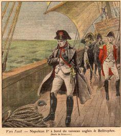 Napoleone sul Bellerophon