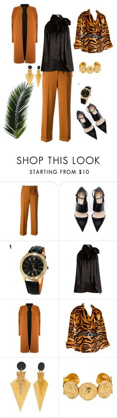 """Untitled #326"" by belinda54-1 ❤ liked on Polyvore featuring Mauro Grifoni, Yves Saint Laurent and Warehouse"