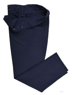 Navy Twill Chino - Bespoke Shirts by Luxire. Custom made to Perfection