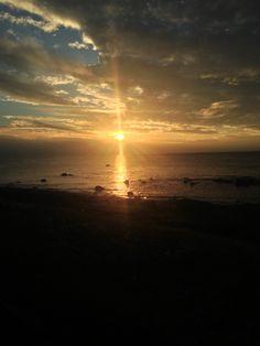 Winter sunset Nr Girvan