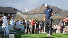 """Bernd Wiesberger & Markus Brier haben anlässlich des BMW Golf Cup, am Samstag, 17. September, ihr Können demonstriert. Anbei einige Bilder von Tee 1 """"in action"""" (mit begeisterten Publikum). Es war eine Ehre diese beiden Paradegolfer auf der Anlage des Kärntner Golf Clubs begrüßen zu dürfen!"""