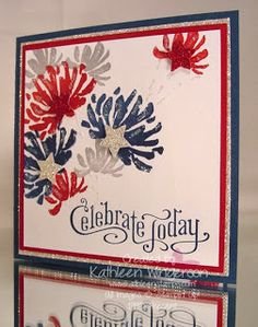 KathleenStamps: Happy 4th of July . . . Too Kind and Perfectly Penned stamp sets