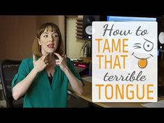 Singing exercises to release tongue tension - Tame that terrible tongue - YouTube