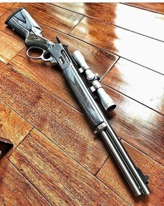 Henry Rifles for Christmas Revolver, Weapons Guns, Guns And Ammo, Survival Rifle, Gun Vault, Lever Action Rifles, Custom Guns, Hunting Rifles, Firearms