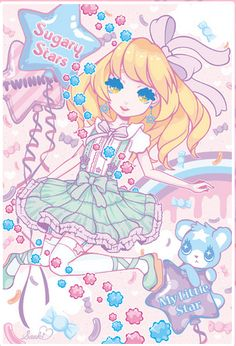 Pastel Cubes: Interview : Saaki artist ♡