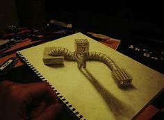 Amazing 3D Drawings by Nagai Hideyuki   Abduzeedo   Graphic Design Inspiration and Photoshop Tutorials