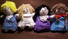 no sew simple dolls - Google Search