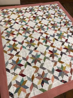 Coming Soon Star quilt Scrappy Quilt Patterns, Scrappy Quilts, Star Quilt Blocks, Star Quilts, Block Quilt, Antique Quilts, Vintage Quilts, Hand Quilting, Machine Quilting