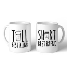 This mug is ceramic and printed on both sides. Suitable for cold and hot liquids, even can be used as decoration or pencil holder or little plant pot. The mug is classic shape and the handle is large bday gifts Bff Birthday Gift, Birthday Gifts For Best Friend, Christmas Birthday, Best Friend Christmas Gifts, Girl Birthday Presents, Birthday Ideas For Friends, Diy Birthday Gifts For Boyfriend, Cute Best Friend Gifts, Creative Birthday Gifts