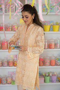 """Set to launch her highly coveted Eid summer collection; Nazli Akbar's """"Sugar Rush"""" will definitely have ladies rushing to get their hands on the fabulous outfits! This season the…"""