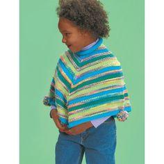 Free Easy Child's Poncho Knit Pattern