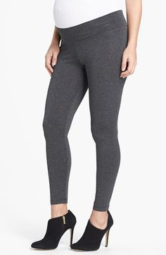 Maternity Leggings Womens Charcoal Size X-Small X-Small