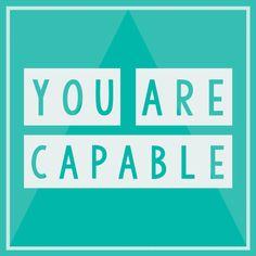 You Are Capable. Jillian Michaels. Mallory Hazel.