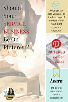 Pinterest marketing expert Anna Bennett tips for businesses: Regardless of whether you manage your Pinterest account in-house or outsource the management to an expert time is money and you have to decide ahead of time what you're willing to invest and what you expect in return. Learn more at http://www.whiteglovesocialmedia.com/how-service-businesses-can-rank-higher-on-google-using-pinterest/