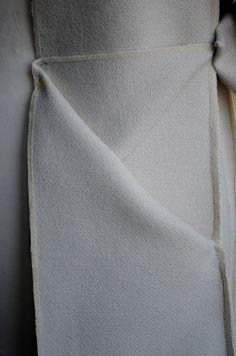 Origami Pocket Detail - innovative pattern cutting; sewing; fabric manipulation; close up fashion detail // Toma Tupikaite