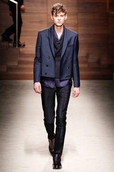 Salvatore Ferragamo Fall 2014 Menswear Collection Slideshow on Style.com