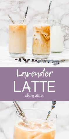This lavender latte is uniquely delicious! If you're looking for an iced coffee recipe or even an iced latte recipe that stands out, this is it! Coffee Drink Recipes, Coffee Drinks, Iced Latte, Iced Coffee, Coffee Type, Coffee Shop, Lavender Latte Recipe, Latte Machine, Flavor Drops