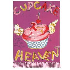 I pinned this Cupcake Heaven Kitchen Towel (Set of from the Julia Junkin & Monica Lee event at Joss and Main! Dish Towels, Tea Towels, Purple Cupcakes, Coffee Cupcakes, Cupcake Heaven, Hand Towel Sets, Apron Designs, Joss And Main