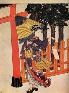 Suzuki Harunobu - Название Картины Неизвестно 006 (2104х2858)    Нажмите для…