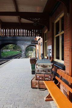 "kendradaycrockett: ""Weybourne Station. by Sunchild57 Photography, Catching Up! on Flickr. @kendradaycrockett """