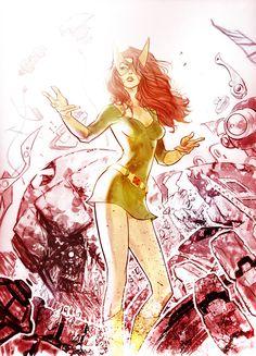 commission - Marvel Girl by marciotakara.deviantart.com on @deviantART