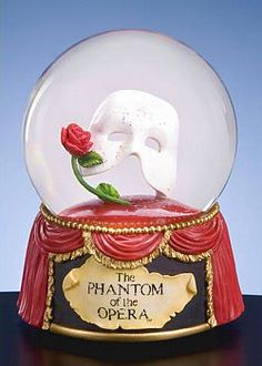 Phantom of the Opera Mask & Rose