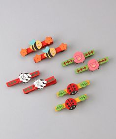 Look at this #zulilyfind! Magnetic Clothespin - Set of Eight #zulilyfinds