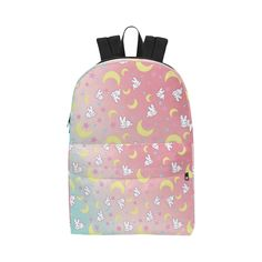 Usagi Pattern Unisex Classic Backpack (Model 1673)