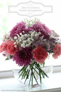 How to Make #Flower Arrangements