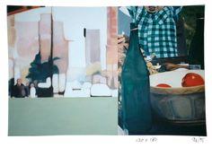 Karin Dando oil on canvas